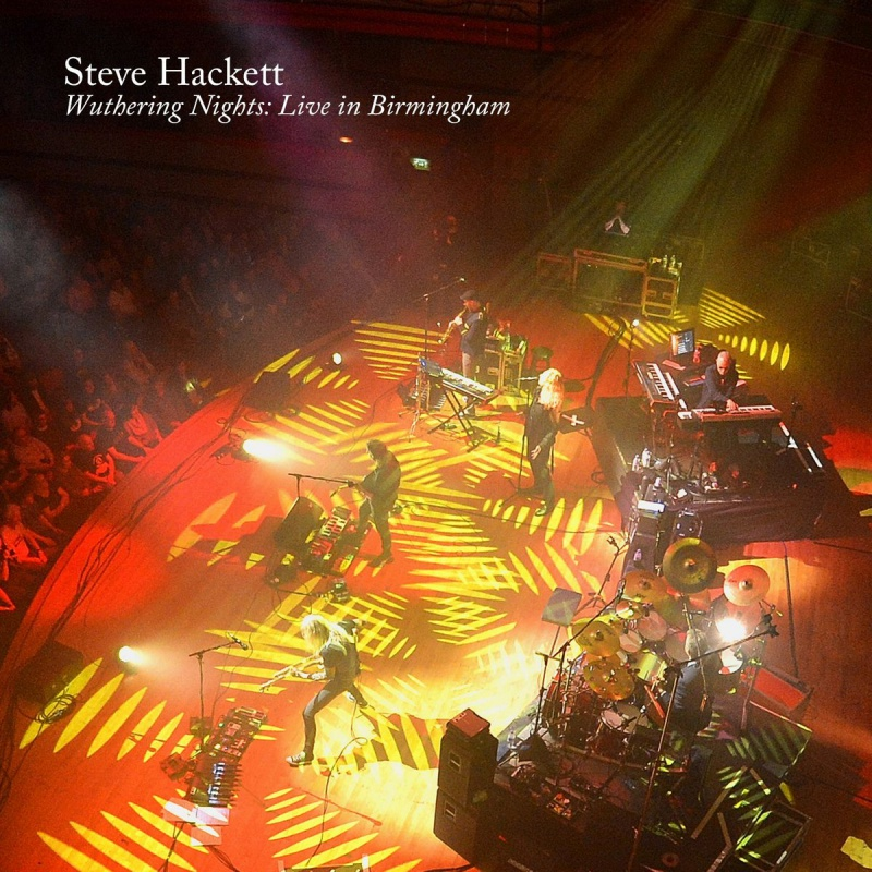 "Steve Hackett ""Wuthering Nights: Live In Birmingham"""