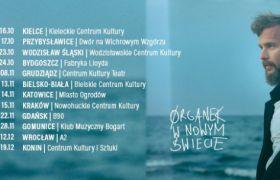 Zespół ØRGANEK ogłasza nową trasę koncertową.